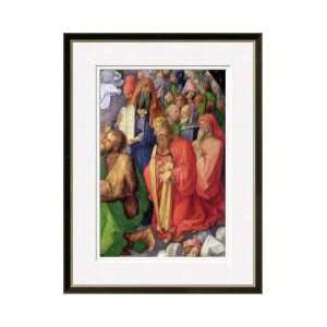 Landauer Altarpiece King David 1511 Framed Giclee Print
