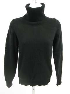 JOS.A. BANK Black Cashmere Turtleneck Sweater Top 34