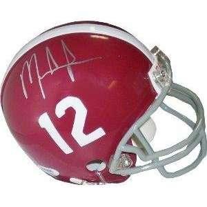 Mark Ingram signed Alabama Crimson Tide Replica Mini Helmet #12  PSA