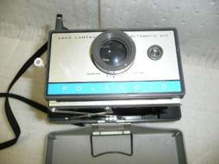 Polaroid 210 Automatic Land Camera folding old antique