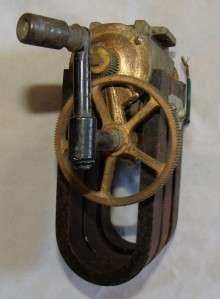 Antique Hand Crank Telephone Magneto Generator