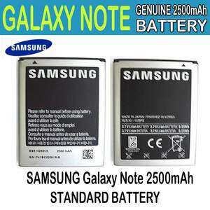 NEW Genuine Samsung GALAXY NOTE GT N7000 I9220 Standard Battery
