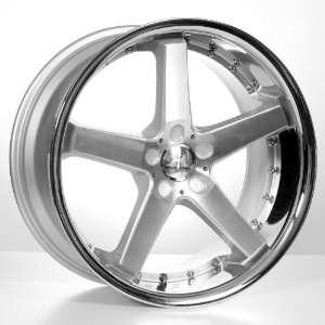 20 Cs5 Mercedes Benz Wheels & Tires Pkg   Machined Face W