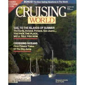 Cruising World March 1991 Unknown Books
