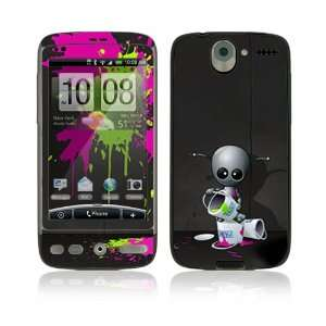 Baby Robot Protective Skin Cover Decal Sticker for HTC Desire Cell