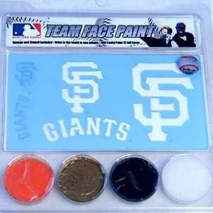 San Francisco Giants Team Face Paint