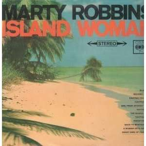 ISLAND WOMAN LP (VINYL) UK CBS 1964: MARTY ROBBINS: Music