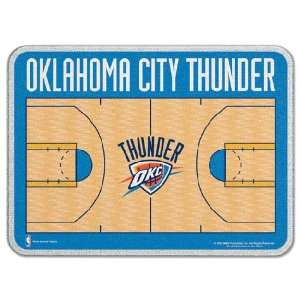 Oklahoma City Thunder 11 x 15 Glass Cutting Board Sports