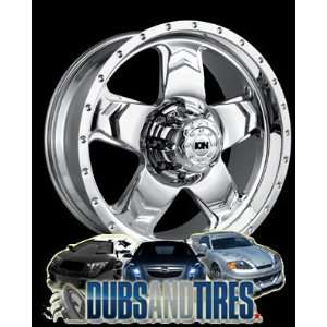 22 Inch 22x9.5 Ion Alloy wheels STYLE 177 Chrome wheels rims