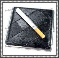 Elegant Leather Cigarette Case (Holds 20)