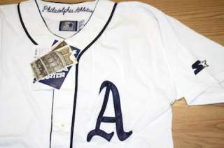 Vintage Philadelphia Athletics Cooperstown Collection Starter jersey