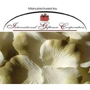 Petals Wedding Favors   Two Tone Color White/Sage