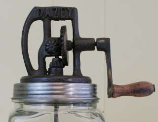 20 Glass Dazey Butter Churn Antique Reproduction