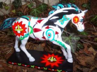 SUN SPIRIT Custom Painted Ponies Native American Art