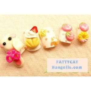 FASHION JAPANESE 3D NAIL ART (Bunny Girl) 24 nails Sold By