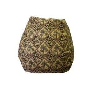 Leopard Tapestry Bean Bag Chair BB 35 TAP Palmleopar