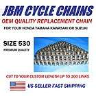 530 X 100 DRIVE CHAIN MOTORCYCLE STREET BIKE CL CB 350 PREMIUM QUALITY