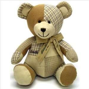 Eddie Bauer Baby 2489008 Teddy Bear Patchwork Bear Baby