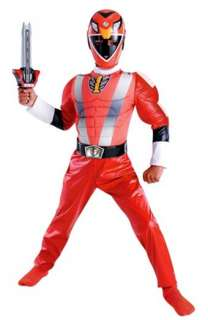 Power Rangers   Red Ranger Muscle Chest Child Costume   Boys