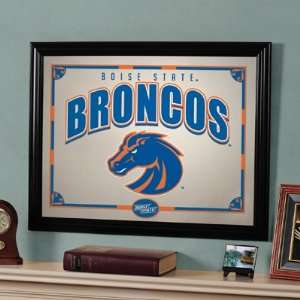 22 NCAA Boise State Broncos Logo Framed Mirror