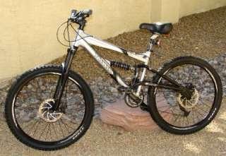 Haro Extreme X6 Mountain Bike disc brake Full suspension Excellent