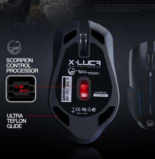 TEAM SCORPION X LUCA Gaming Optical Mouse *SEALED*