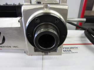 HA5C HAAS CNC INDEXER BRUSH TYPE ROTARY TABLE *VIDEO* 5C COLLET MILL