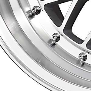 New 15X8.25 4 100/4 114.3 Drag Dr44 Silver Machined Face Wheel/Rim