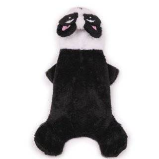 Casual Canine Polyester Panda Pup Dog Costume, Medium, 16 Inch, Black