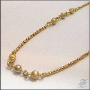 v2792   18K SOLID MARKED YELLOW GOLD CHAIN NECKLACE