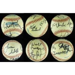 Rock Band Chicago Signed Baseball JSA LOA Robert Lamm