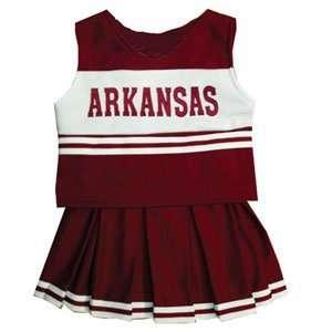 Arkansas Razorbacks NCAA Cheerdreamer Two Piece Uniform