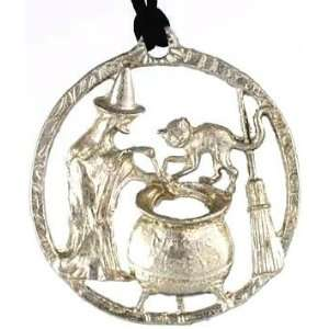 Witchs Brew Charm Pendant Necklace Wicca Wiccan Pagan Metaphysical
