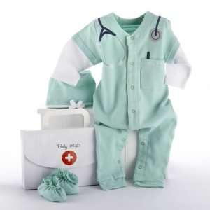 Baby Aspen   Big Dreamzzz Baby M.D. Two Piece Layette Set