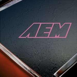 AEM INTAKE PERFORMANCE Pink Decal Truck Window Pink