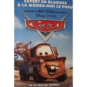 CARS   ADVANCE STYLE D (LARGE   FRENCH   ROLLED) Movie Poster