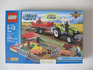 Lego City 7684 Pig Farm Tractor Brand New Sealed