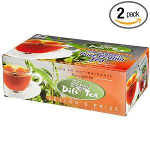 Dils Royal Tea, Pure Ceylon Orange Pekoe Tea, 100 Count Foil