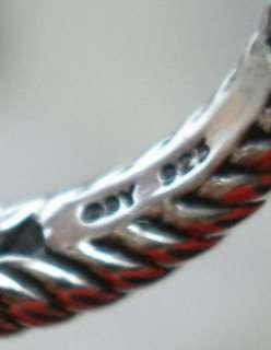 New David Yurman Blue Topaz Diamond Albion Petite Split Shank Ring