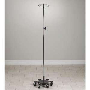 Adjustable Six Leg, Space Saver, Heavy Duty, 4 Hook Infusion Pump