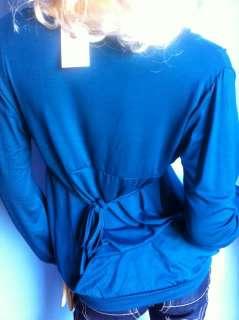 Maglietta Palloncino,Viscoso.Taglia Unica 38 44, ARTM001,Turchese