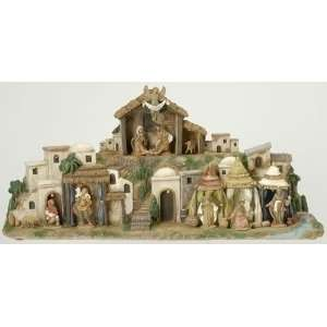 Fontanini 2.5 Lighted Bethlehem Village Nativity Scene