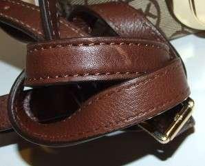 Michael Michael Kors Jet Set Monogram Crossbody Bag Purse Handbag