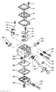 Zama Carburetor for Echo String trimmer SRM 210E