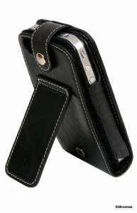 GENUINE leather case cover stand wallet for Apple iPhone 4S & iPhone 4