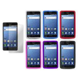 Premium Samsung Infuse 4G Silicone Case with Screen Protector