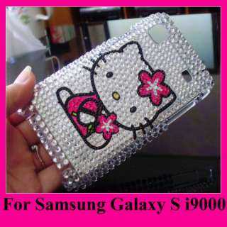 Hello Kitty Bling Case Cover For Samsung Galaxy S i9000
