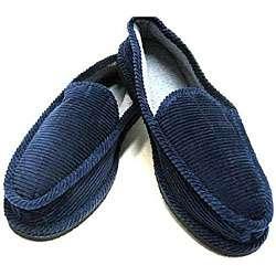 Daisy Jane Mens Blue House Slipper Shoes  Overstock