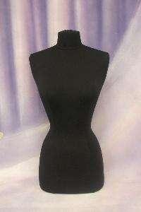 Mannequin Manikin Dress Form F2/4W+BS 02+ 1 Black Cover