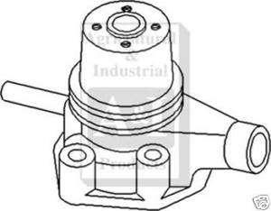 Allis Chalmers Water Pump fits D10 D12 D15 Gas Models